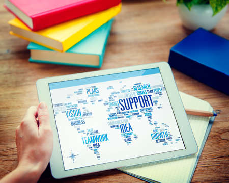business support: