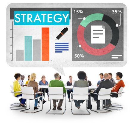 business strategy: Business Strategy Marketing Concept