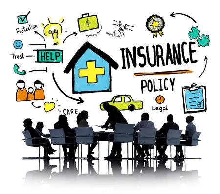 seguro: Políticas de Diversidad Gente de negocios de Seguros Conferencia Concepto