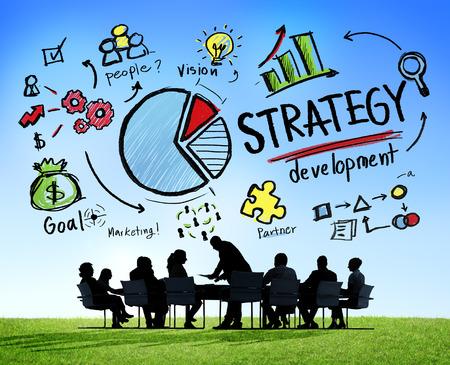 lider: Objetivo de Desarrollo de Estrategia de Marketing Visión Planificación de Negocios Concepto