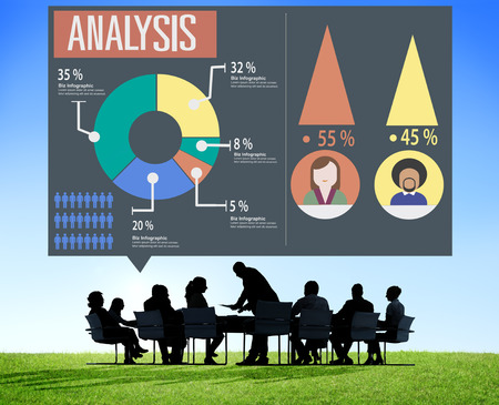 analytic: An�lisis comercializaci�n anal�tico Sharing Gr�fico Diagrama Concept