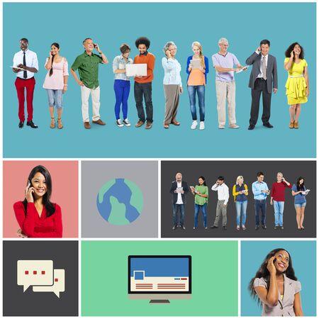 Community Communication Networking Technology Content Concept photo