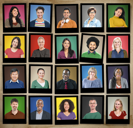 diverse people: Diverse People Multi Ethnic Variation Casual Concept