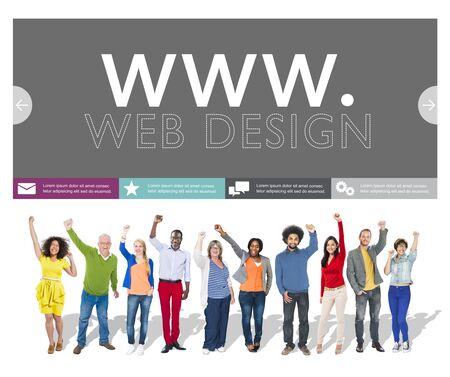artistic design: Www Web Design Web Page Website Concept