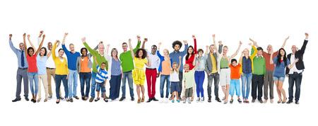 Diversity Ethnicity Multi-Ethnic Variation Togetherness Unity Team Concept photo