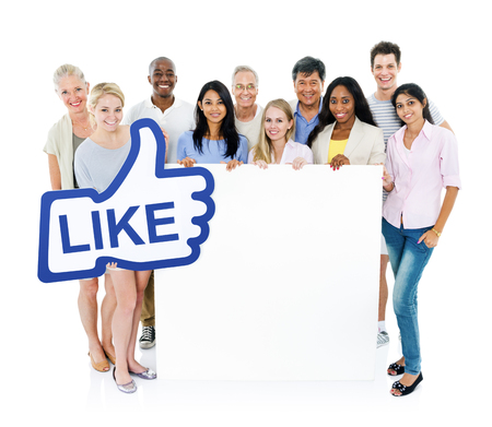 Group of Social Networking People photo