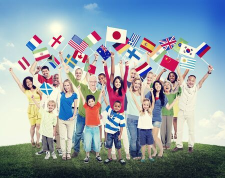Diverse Diversity Ethnic Ethnicity Variation Unity Togetherness Concept photo