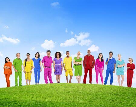 Diverse Diversity Ethnic Ethnicity Unity Togetherness Concept