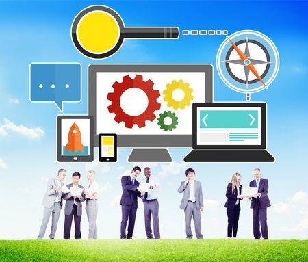 Search Engine Optimization Online Technology Web Concept photo