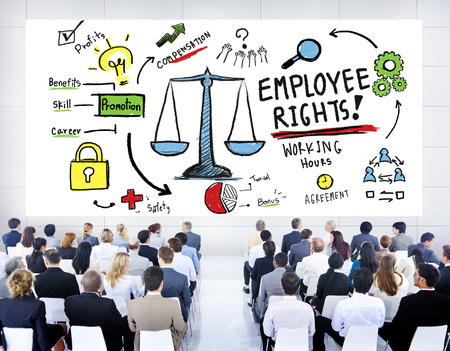 Employee Rights Employment Equality Job Business Seminar Concept Stock Photo