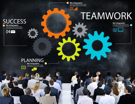 engranajes: Asociaci�n de engranajes Trabajo en equipo Grupo Equipo de Cooperaci�n Concept