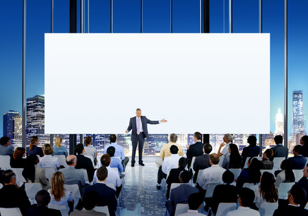 large group of business people: Diversity Business People Meeting Conference Seminar Concept Stock Photo