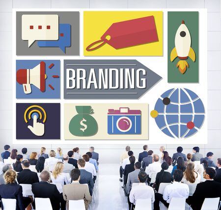 Branding Advertising Business Global Marketing Concept photo