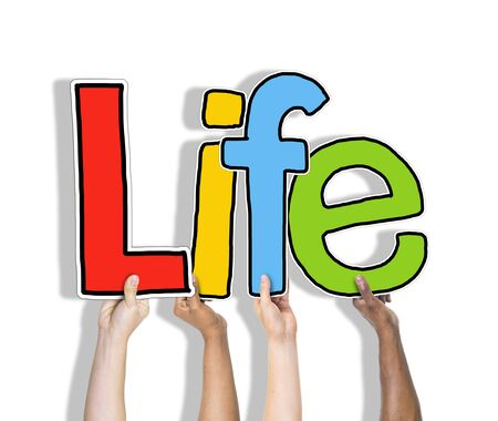 subsist: Life Alive Being Breath Exist Birth Concept Stock Photo