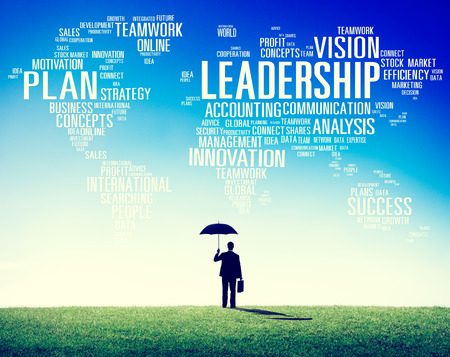 Leadership Boss Management Coach Chief Global Concept photo