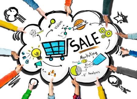 Sale Sales Selling Finance Revenue Money Income Payment Concept Stock Photo