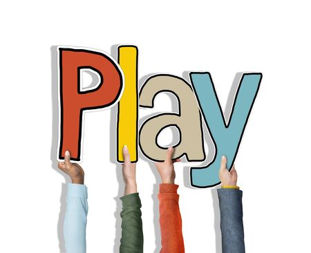 Play Word Concepts Isolated on Background photo