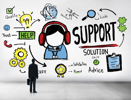 Support Solution Advice Help Care Satisfaction Quality Concept photo