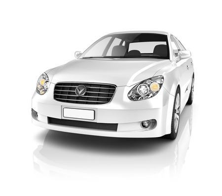 Illustration der Verkehrstechnik Car Performance Concept Standard-Bild - 39108701
