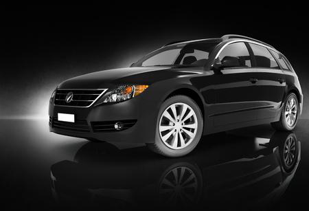 comtemporary: Comtemporary Car Elegance Vehicle Transportation Luxury Performance Concept