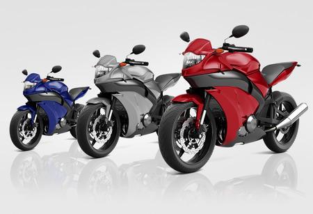 bike riding: Motorcycle Motorbike Bike Riding Rider Contemporary Concept