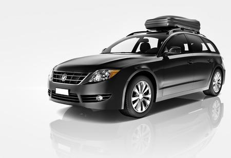 자동차 자동차 현대 드라이브 구동 차량 운송 컨셉 스톡 콘텐츠