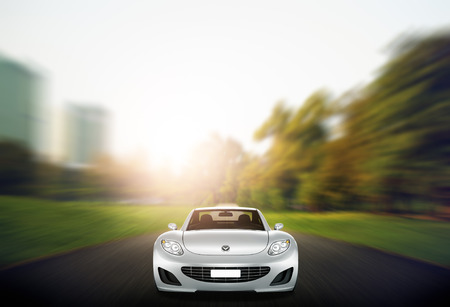 elegance: Comtemporary Car Elegance Vehicle Transportation Luxury Performance Concept