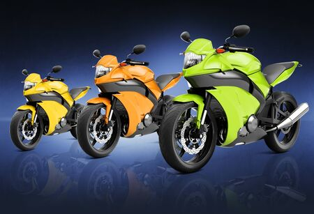 two dimensional shape: Motorcycle Motorbike Bike Riding Rider Contemporary Concept