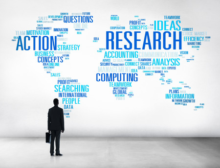 Research Study Report Response Result Action Concept photo