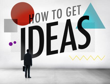 Ideas Thinking Concept Inspiration Creativity Concept photo