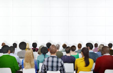 プレゼンテーション視聴者概念の学習セミナー会議会議人