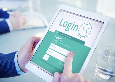 register: Login Registration Membership User Register Join Subscribe Concept