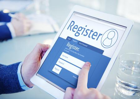 メンバーシップ アプリケーション登録参加事務所コンセプトを閲覧を登録します。