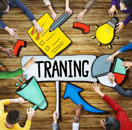 professional development: People Aspirations Innovation Development Training Symbol Ideas Concepts Stock Photo