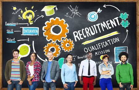 diversity: Diversity People Recruitment Search Opportunity Concept Stock Photo