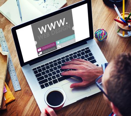 Www Web Design Page Web Site Web Concept Banque d'images - 39198090