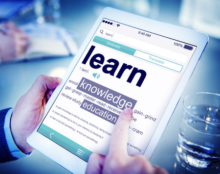 Digital Dictionary Learn Knowledge Education Concept Stock Photo - 39198199