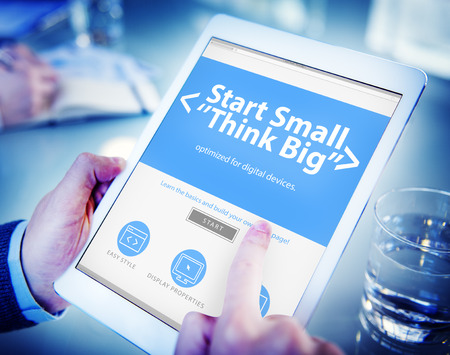 business: Ideas Start Business Challenge Office Working Concept