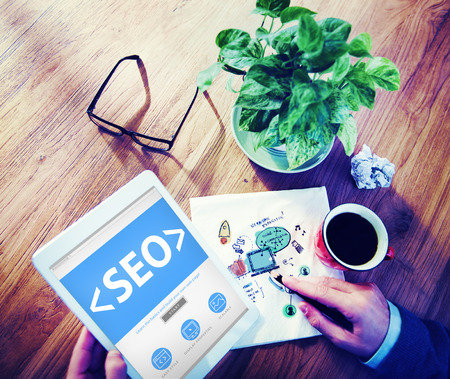 optimisation: Website Internet Technology Online Connection Concepts