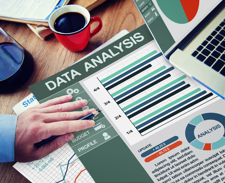 data: Business Data Analysis Information Network Concept