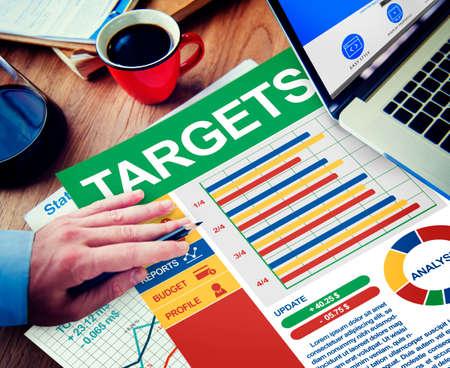 target thinking: Negocios de la blanco de Trabajo C�lculo Pensar Planificaci�n Tr�mites Concepto