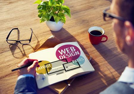 web content: Web Design Content Creative Website Responsive Concept