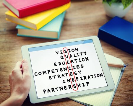 vision concept: Success Goal Target Victory Strategy Vision Concept