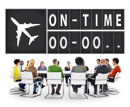 puntual: On Time Eficiencia Puntual Organizaci�n Concepto de Gesti�n