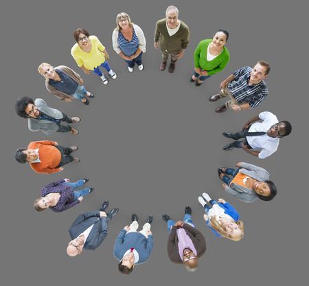 People Multiethnic Group Diversity Community Ethnicity Concept Stock Photo
