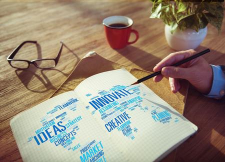 Innovation Inspiration Creativity Ideas Progress Innovate Concept Banque d'images