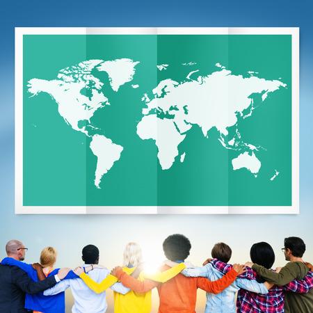 globalization: World Global Business Cartography Globalization International Concept