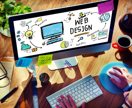 web browser: Content Creativity Digital Graphic Layout Webdesign Webpage Concept