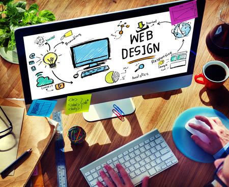 design graphic: Content Creativity Digital Graphic Layout Webdesign Webpage Concept