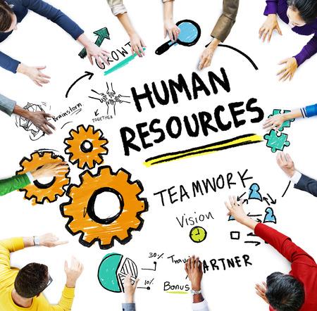 recursos humanos: Recursos Humanos Empleo Trabajo Trabajo en equipo Reunión Concepto